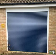 All Inclusive, Fully Installed Roller Shutter Garage Doors From Roll Up Doors, Roller Shutters, Blinds, Garage Doors, Curtains, Blue, Home Decor, Decoration Home, Room Decor
