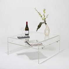 acrylic coffee table with shelf tv stand acrylic furniture uk