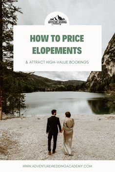 Building an elopement business? Make sure your pricing is in alignment with your brand values. Photography Pricing, Photography Branding, Photography Business, Wedding Photography, Who Book, Industrial Wedding, Couple Shoot, Adventure, Building