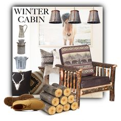 Stuck in the woods! #rustic #crafts #interior