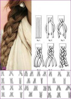 how to braid with up to six(!) strands riddle me that rapunzle!