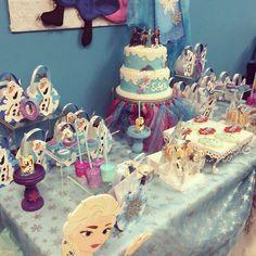 Frozen 6th Birthday | CatchMyParty.com