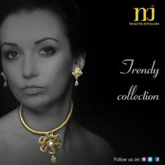 Adorn yourself with these beautiful pendant which gives you modern and traditional look.  For order call or whatsapp : +91 9831697794 #CostumeJewellery #Style #Zink #StatementPiece #Desiger #MukundJewellers