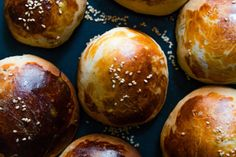 Krachel - Aniseed and Sesame Seed Sweet Buns — My Moroccan Food