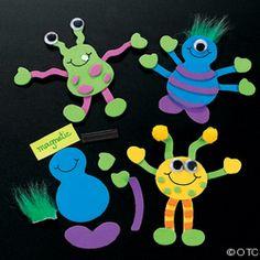 1+1+1=1...Happy Monsters Tot Pack