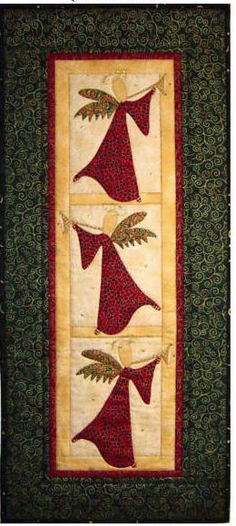 Christmas quilting patterns free wall hangings 66 ideas for 2019 Christmas Tree Quilt, Christmas Patchwork, Christmas Quilt Patterns, Christmas Wall Hangings, Patchwork Quilt Patterns, Christmas Applique, Christmas Sewing, Quilt Patterns Free, Applique Patterns
