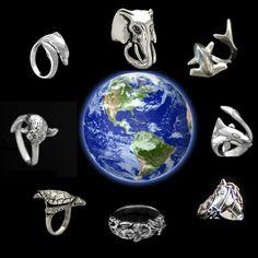 Original Hand Made Sterling Silver Rings. RasnickJewelry.Etsy.com