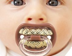 Grillz Pacifier  $6... my baby will have this