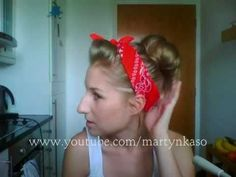 Pin up Girl Hair Style Tutorial
