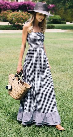 d1b9586ccb46 Once considered too twee for the fashion crowd, gingham has had a revival  in recent years, and Lucy Williams, Anabelle Fleur et al are showing us how  to ...