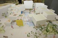広島工業大学 環境学部 | Benesse マナビジョン School Architecture, Architecture Plan, Kindergarten Design, Public Space Design, Arch Model, Social Housing, Master Plan, First Home, School Design
