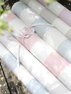 'broadstripes' fabric £44.95 by peony & sage
