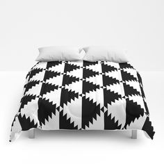 ⚡ SALE: up to OFF on Everything by Bitart on Today! Buy trendy geometric black and white Aztec Duvet Cover now! Nordic Home, Scandinavian Home, Tribal Bedding, Uo Home, Small Home Offices, Bedroom Accessories, Soft Duvet Covers, Comforter Sets, Duvet Bedding