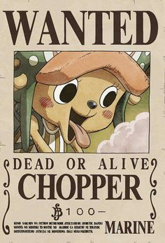 One Piece - Chopper One Piece Figure, One Piece 1, One Piece Luffy, One Piece Chopper, Anime One Piece, Nico Robin, Otaku Anime, Wanted One Piece, Tony Tony Chopper