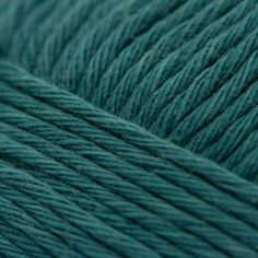 RICO Creative Cotton Aran Crochet Craft Wool - Petrol Teal 047