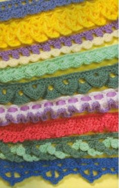 Picture of Crochet Embelishments