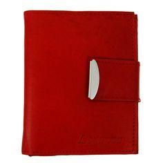 Pánská stylová kožená peněženka Loranzo 462 červená