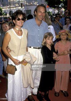Cindy Costner, Kevin Costner, Lily Costner and Annie Costner