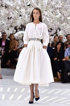 Christian Dior Fall Winter 2015 Runway - Elle -- note from @yarnivore -- one in black, please, and maybe sodalite blue.