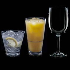 #Strahl is known for clear, dishwasher-safe, shatter-proof glasses. Enjoy the weighty feel of these stackable tumblers while on the dock or pool side.