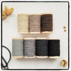 Metallic Thread, Silk Thread, Cotton Thread, Collor, Embroidery Thread, Palette, Pallets