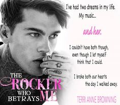 RELEASE BLITZ, EXCERPT, TRAILER & PAPERBACK GIVEAWAY: The Rocker Who Betrays Me (The Rocker, #11) by Terri Anne Browning - #RockstarAlert - iScream Books