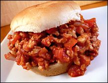 Best sloppy joes/janes ever...and they're healthy.  The red wine vinegar, Worcestershire sauce and steak seasoning blend really give it that meaty flavor without guilt.  Plus you can make a big batch and freeze it - it keeps well!