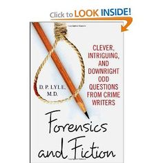 Fed my fascination of forensics and love of fiction!
