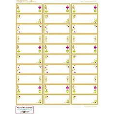 martha stewart home office with avery easy peel white address labels 19026