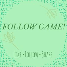 FOLLOW GAME Like this listing, follow everyone who does, and share to all of your followers! Lets help everyone grow and sell!! Accessories