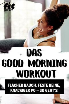 Starte fit in den Tag und bring deinen Body schon am Morgen schnell in Form. Das… Get fit in the day and bring your body in the morning quickly in the form. The program lasts only 10 minutes! Fitness Workouts, Planet Fitness Workout, Fun Workouts, At Home Workouts, Fitness Classes, Body Workouts, Workout Body, Fitness Gym, Fitness Logo