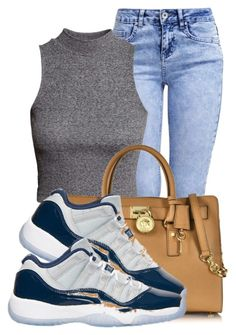 """""""."""" by ray-royals ❤ liked on Polyvore featuring New Look, H&M, Michael Kors and Retrò"""