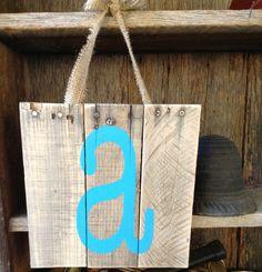 Pallet Art Nursery sign Wooden Signs by RescuedandRepurposed, $22.00