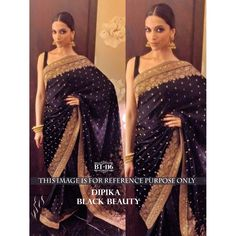 Stylish Black Multy & Sequnce Nylon Jequerd Butti Georgette Saree with Blouse at just Rs.2100/- on www.vendorvilla.com. Cash on Delivery, Easy Returns, Lowest Price.