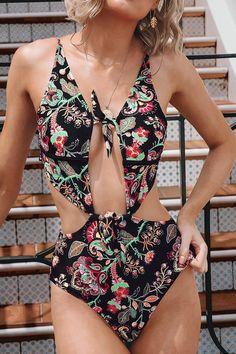 8d7d1b8538dca Magical Bowknot One-Piece Swimsuit Ropa De Baño