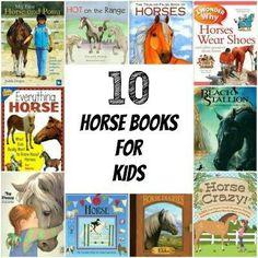 10 Horse books for kids