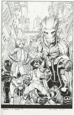 The Marvel Comics of the 1980s — Anatomy of a Cover - Guardians of the Galaxy #1 by...