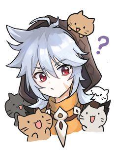 Character Art, Character Design, Fanart, Albedo, Cute Anime Guys, Game Art, Art Inspo, Emoji, Anime Characters