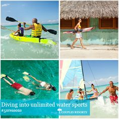 Dive into unlimited water sports #couplesresorts #jamaica http://c.oupl.es/1g5FFze