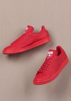 Adidas x Raf Simons Stan Smith: Red
