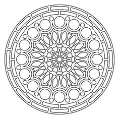 Printable Mandala - lots of free mandalas