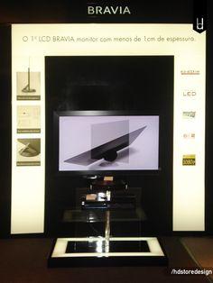 Projeto de Cenografia para a loja Sony no Shopping Cidade Jardim. Clique no link e conheça melhor esse projeto: http://hdstoredesign.com.br #cenografia #cenário #scenography #scenario #design #storedesign #varejo #loja #hdsd - Sony Brasil