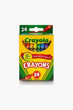Crayola's 24 Ct Kids Crayons are full of color possibilities inside and outside the classroom. This classic set features key primary and secondary colors and is great for coloring books, crafts, and school art projects. Store crayons in the reusable crayon box to take them wherever you go. Pair them with coloring books, art sets, or a new kids outfit for boys and girls gifts. Crayola Box, Wax Crayons, Color Crayons, Pack Of Crayons, Crayola Chalk, Primary And Secondary Colors, Crayon Set, Shopping, Shoes