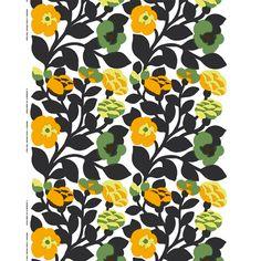 Marimekko's Green-Green fabric, created in 1975 by Japanese designer Katsuji Wakisaka.