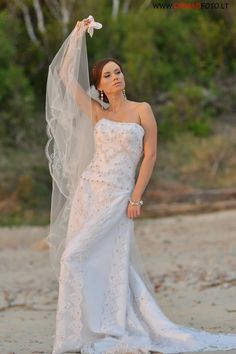 """Mano Suknele"" wedding dress"