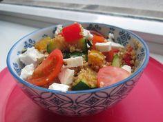 Quinoa met gegrilde groenten