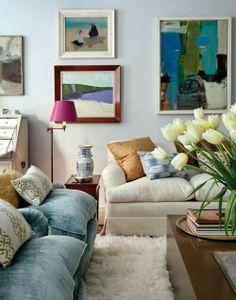 Mismatch living room