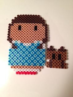 Dorothy Wizard of Oz Perler Beads by NerdChristmas