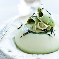 panna cotta with green tea more cotta recipe green teas green tea ...