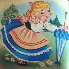 Little Bo-Peep has lost her sheep. Little Bo Peep, Book Illustration, Illustrations, Clip Art, Mother Goose, Vintage Artwork, Spring Has Sprung, Bold Prints, Nursery Rhymes
